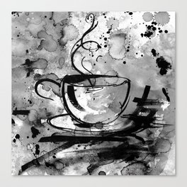 Coffee Dreams No. 16b by Kathy Morton Stanion Canvas Print