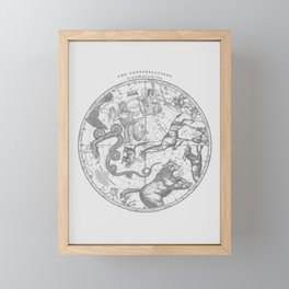 The Constellations Framed Mini Art Print