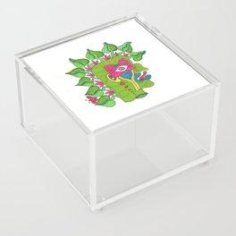 Pre-Columbian God Acrylic Box