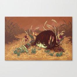 Surfacing  Canvas Print