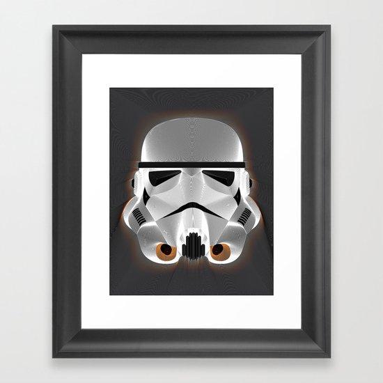 Stripestrooper Framed Art Print