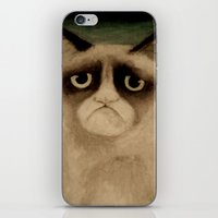 grumpy iPhone & iPod Skins featuring Grumpy! by Colunga-Art