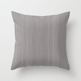 Slate Violet Gray SW9155 Smooth Wood Grain Pattern Throw Pillow