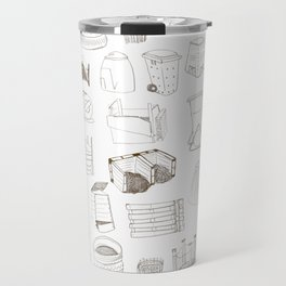 Cover, Contain, COMPOST- 1 of 3 Travel Mug