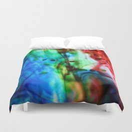 Below the surface Duvet Cover