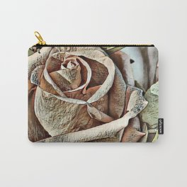Toony World - Floral (Rose) Carry-All Pouch