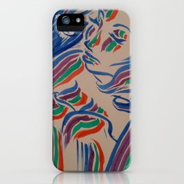 Flow with the Colours iPhone Case