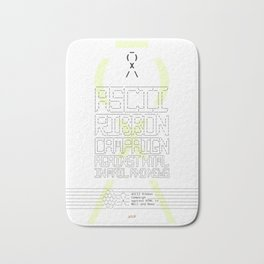 ASCII Ribbon Campaign against HTML in Mail and News – White Bath Mat