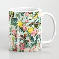Floral and Birds III Mug