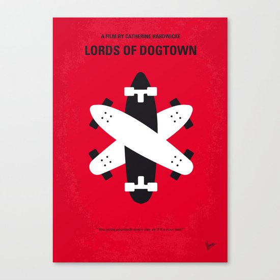 No188 My The Lords Of Dogtown minimal movie poster Canvas Print