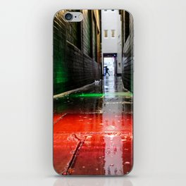 London street red green iPhone Skin
