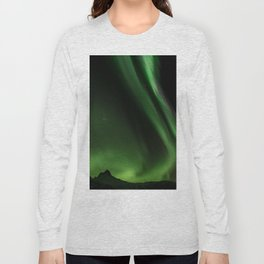 Northern Lights in Norway 05 Long Sleeve T-shirt