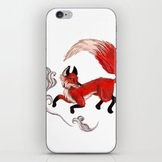 Red Fox plays iPhone & iPod Skin