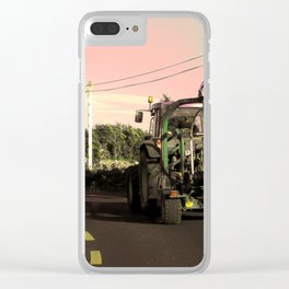 Tractor 1 Clear iPhone Case