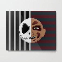 The Nightmare Before Elm Street Metal Print