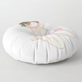 Persona Makoto Waifu Chibi Floor Pillow