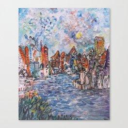 City Beautiful Canvas Print