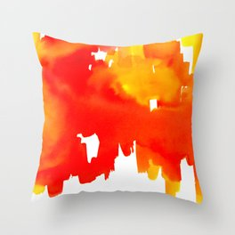 Reflections of the City Throw Pillow
