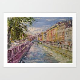 Painting Oil Realism Canvas Art Impressionism Landscape Painting Modern Office Decor Art Collection Art Print