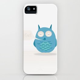 That was a hoot! iPhone Case