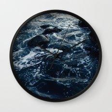 Salt Water Study Wall Clock