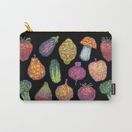 Vitamins (black) Carry-All Pouch