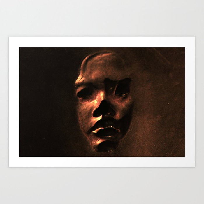 The False Face Society  Art Print