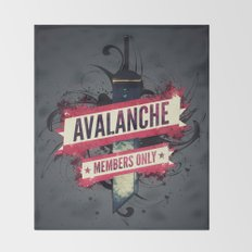 Final Fantasy VII - Avalanche Member's Only Throw Blanket