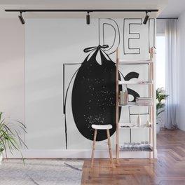 DELETE Wall Mural
