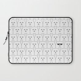 Cat Background #society6 #decor #buyart #artprint Laptop Sleeve