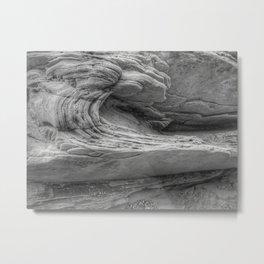 the wave - 4 elements Metal Print