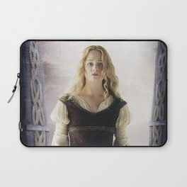 Eowyn with Sword Laptop Sleeve
