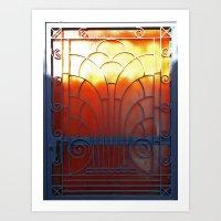 door Art Prints featuring Door by aeolia