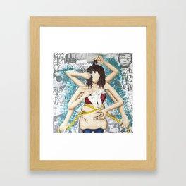 Picky Framed Art Print