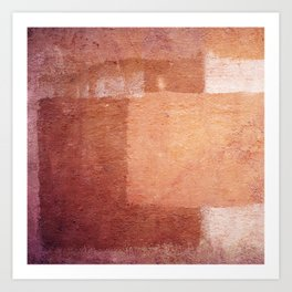 Morrocan colors - Abstract Art Print
