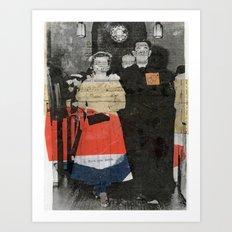 Recessional Art Print