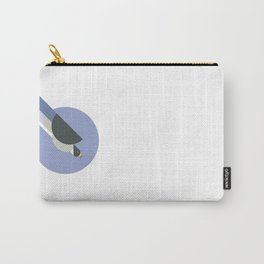 Peregrine Falcon vector illustration Carry-All Pouch