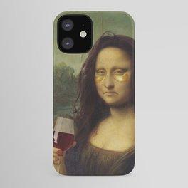 Drunk Lisa iPhone Case