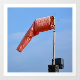 Windsock Schellville Sonoma Valley Art Print