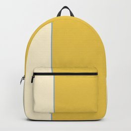 Warm Sunlight Color Block Backpack