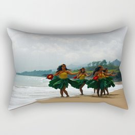 Culture in Hawaii Rectangular Pillow