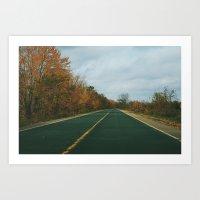 River Road Art Print