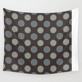 Oatmeal Stout Retro Polka Dot Print Seamless Pattern Wall Tapestry