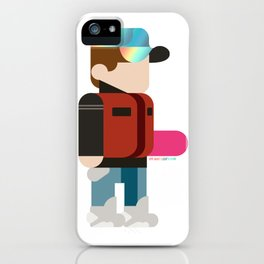 Marty Deconstructed iPhone Case