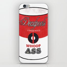 Deadpool's Can of Whoop-Ass! iPhone Skin