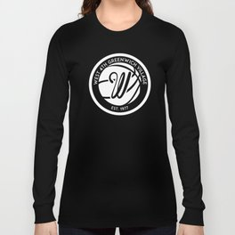 """West 4th """"The Cage"""", Greenwich Village, New York City Basketball Long Sleeve T-shirt"""