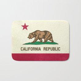 California Republic Flag Bath Mat