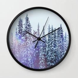 Winterscape Wall Clock
