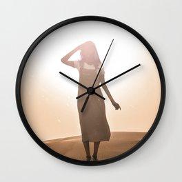 scorching heat Wall Clock