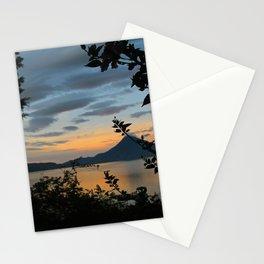 Lago Atitlan at Sunrise Stationery Cards